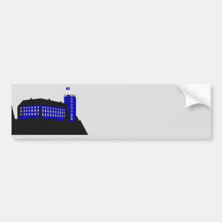 Koldinghus Palace - Grey Bumper Sticker