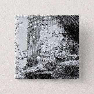 Kolf game, 1654 pinback button