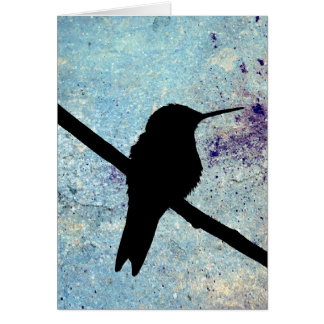 Kolibri, Gute Besserung Tarjeta De Felicitación