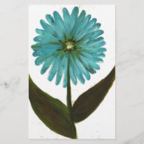 Kolleen's Teal Flower 2