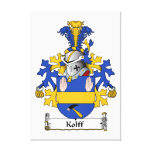 Kollf Family Crest Gallery Wrap Canvas