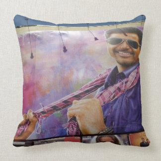 Kollywood Movie Star Throw Pillow
