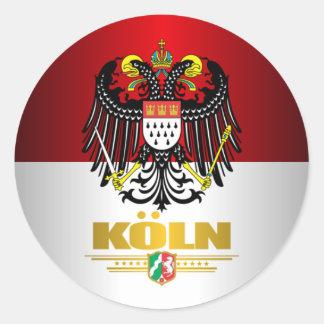 Koln (Cologne) 2 Classic Round Sticker