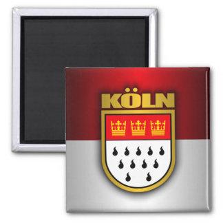 Koln (Cologne) 2 Inch Square Magnet