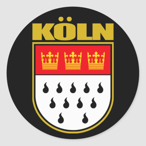 Koln (Cologne) Classic Round Sticker