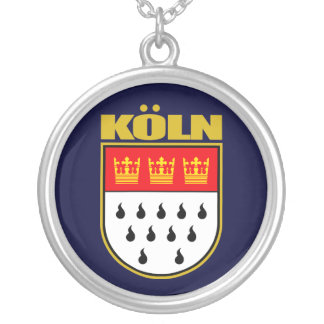 Koln (Cologne) Silver Plated Necklace