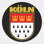 Koln (Colonia) Etiqueta Redonda
