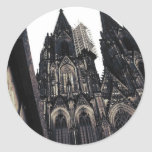 Kölner Dom Classic Round Sticker