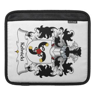 Kolnicki Family Crest iPad Sleeve
