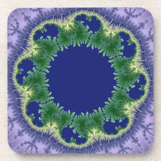 Kolo fractal art coaster