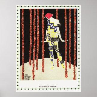 Kolo Moser - Dancer Miss Olga George Poster