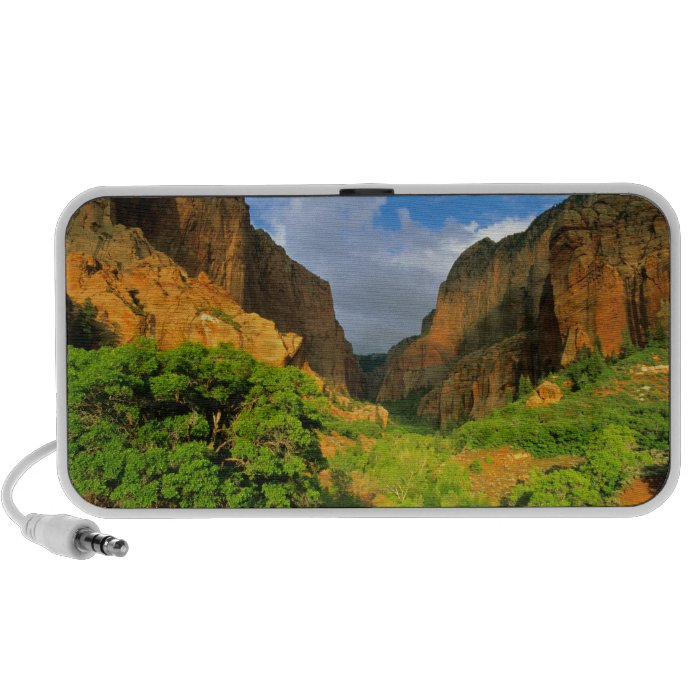Kolob Canyon at Zion Canyon in Zion National Mini Speaker