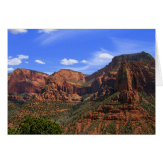 Kolob Canyon Card