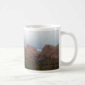 Kolob Canyon Classic White Coffee Mug