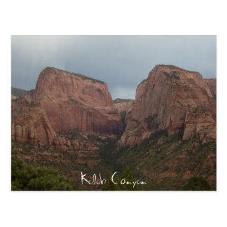Kolob Canyon Postcard