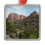 Kolob Canyons at Zion National Park Metal Ornament