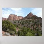 Kolob Canyons at Zion National Park Poster