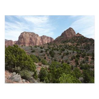 Kolob Canyons at Zion National Park Utah Postcard