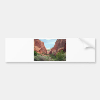 Kolob Canyons, Zion National Park, Utah, USA 4 Bumper Sticker