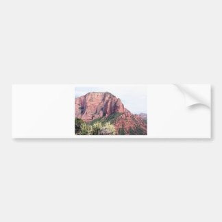 Kolob Canyons, Zion National Park, Utah, USA, 5 Bumper Sticker