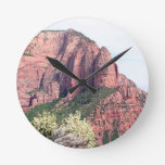 Kolob Canyons, Zion National Park, Utah, USA, 5 Round Wallclocks
