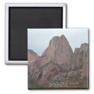 Kolob CanyonZion National Park 2 Inch Square Magnet