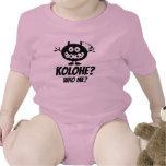 Kolohe? Who Me? Baby Clothing By: Ho Brah! Bodysuit
