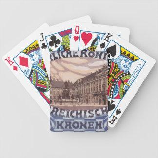 Koloman Moser- Design for Austrian jubilee stamp Poker Cards