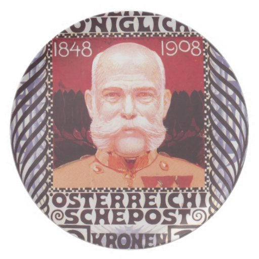 Koloman Moser- Design for the anniversary stamp Plates