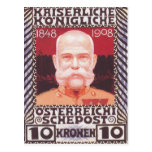 Koloman Moser- Design for the anniversary stamp Postcards
