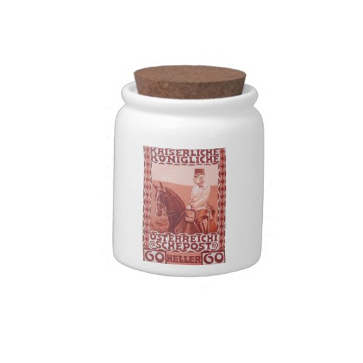Koloman Moser- Design of the anniversary stamp Candy Jars