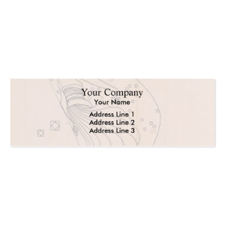 Koloman Moser- Drafts for metal relief Business Card Templates