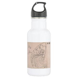 Koloman Moser- Drafts for metal relief 18oz Water Bottle