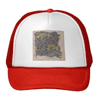 Koloman Moser- Fabric design with trout dance Mesh Hat