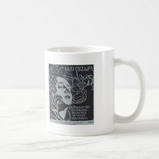 Koloman Moser-Girl s Head Cover design Ver Sacrum Mug