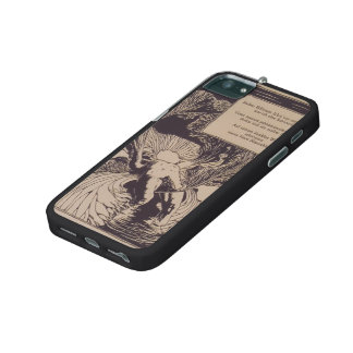 Koloman Moser-Illustration to poem by Arno Holz. iPhone 5 Covers