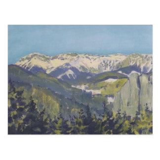 Koloman Moser- Landscape in Semmering Postcard