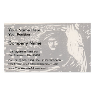 Koloman Moser- Loneliness Double-Sided Standard Business Cards (Pack Of 100)