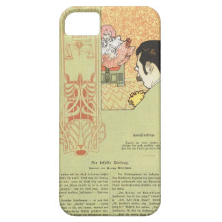 Koloman Moser- Matter of conscience iPhone 5 Cover