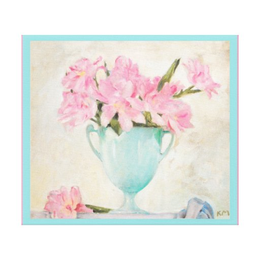 Koloman Moser Parrot Tulips Bloomed Canvas Print