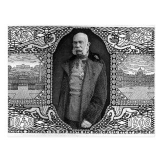 Koloman Moser- Postcard with Emperor Franz Josef