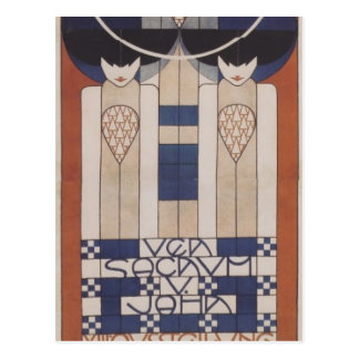 Koloman Moser- Poster for the XIII. Secession Postcard