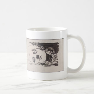Koloman Moser- Sketch of emblem to Ver Sacrum Coffee Mugs