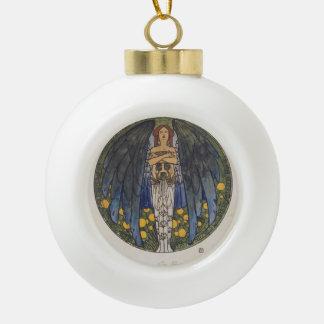Koloman Moser- The sketch of the round window art Ornament