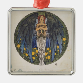 Koloman Moser- The sketch of the round window art Ornaments