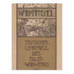 Koloman Moser- Waidmannsheil Postcard