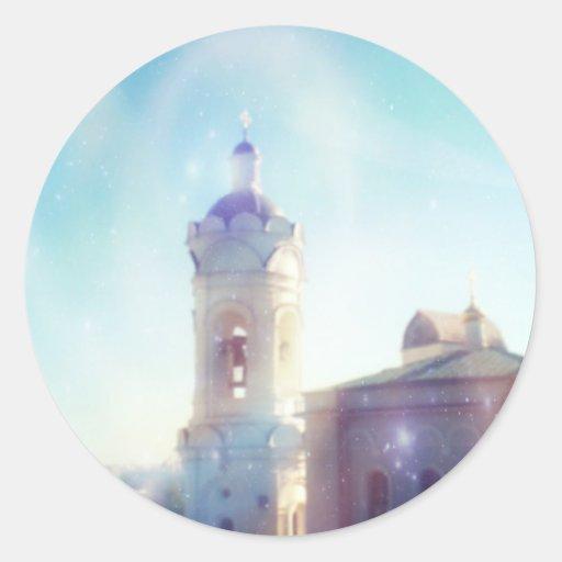 Kolomenskoye Architecture Ligth Sparkles - Sticker