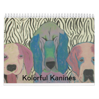 Kolorful Kanines Calendar
