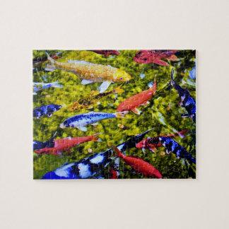 Kolorful Kauai Koi Rompecabezas