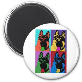 "Kolorful ""Kriss"" 2 Inch Round Magnet"